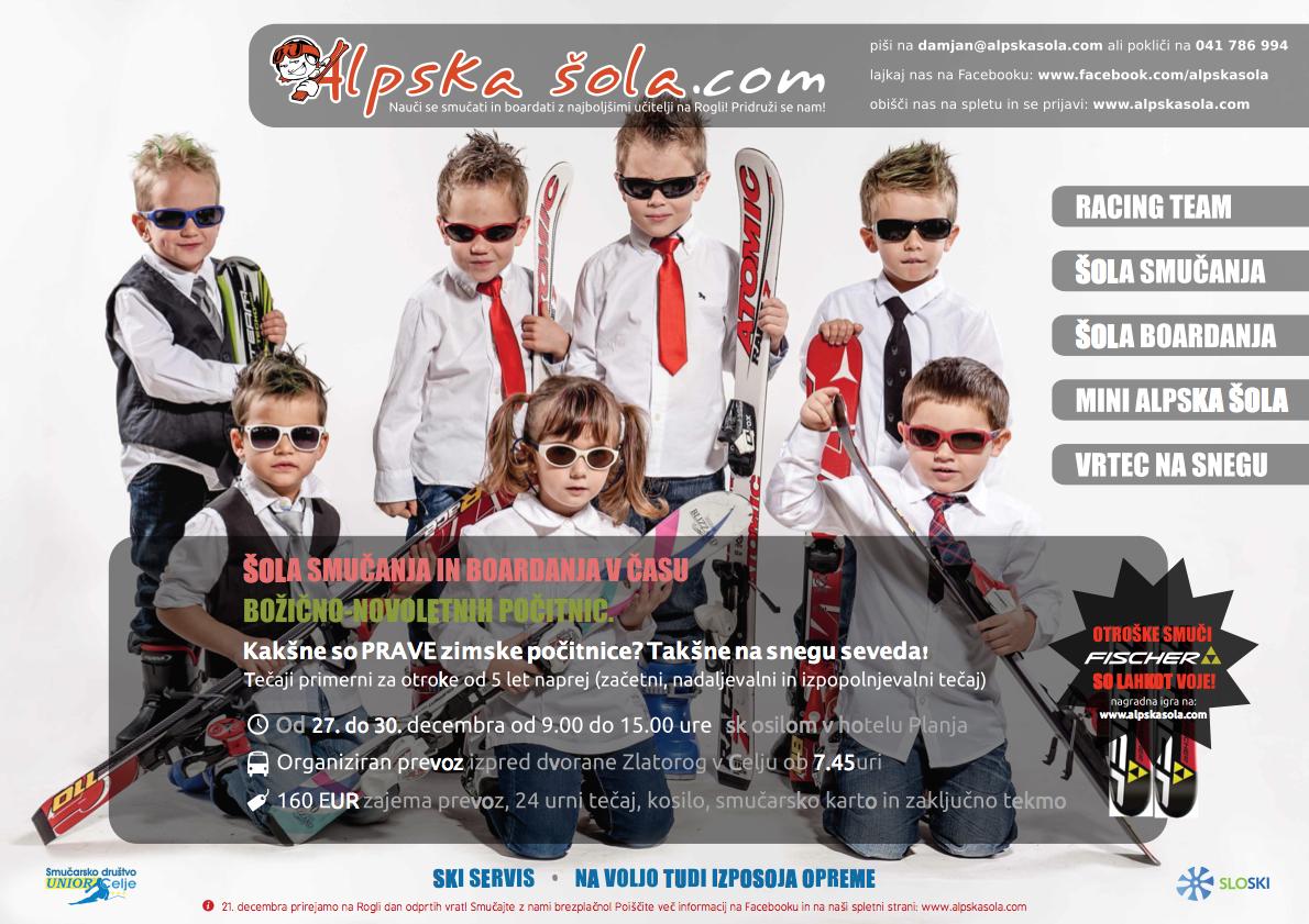 Alpska šola - Plakat zima 2013 - počitnice-popravek
